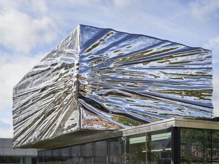 Lillehammer Art Museum and Cinema Expansion Snøhetta