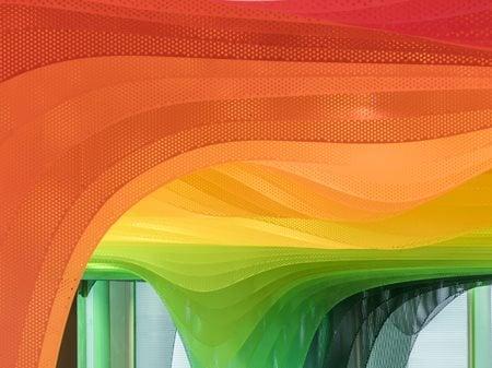Metal Rainbow - Zhongshu Bookstore in Suzhou Wutopia Lab