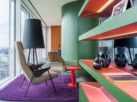 Show apartment 'Chromatic Spaces' Ippolito Fleitz Group - Identity Architects