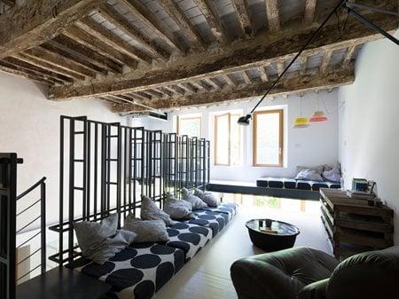 Ristrutturazione di un vecchio laboratorio di falegnameria trasformato in residenza SIMONE TESTI