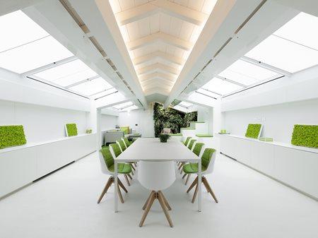 Living Mansarda bfa_Barbara Fassoni Architects