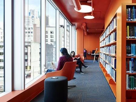 Adler University Vancouver Campus PUBLIC Architecture + Communication