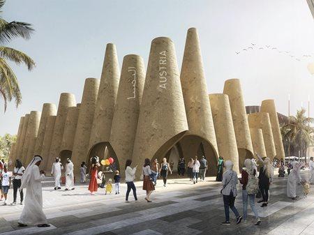 Austrian Pavilion at Expo 2020 Dubai  querkraft