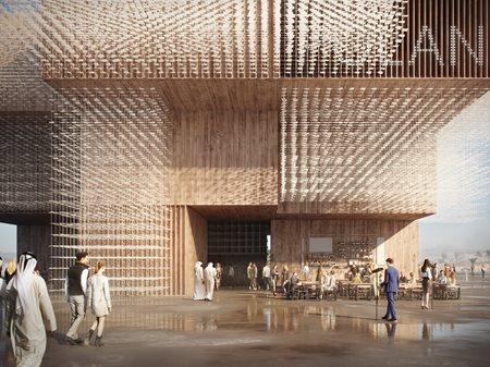 Polish Pavilion at Expo 2020 Dubai WXCA