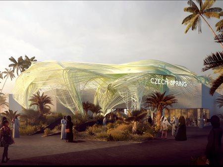 Czech Pavilion at Expo 2020 Dubai FORMOSA AA