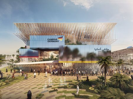 German Pavilion at Expo 2020 Dubai LAVA - Laboratory for Visionary Architecture