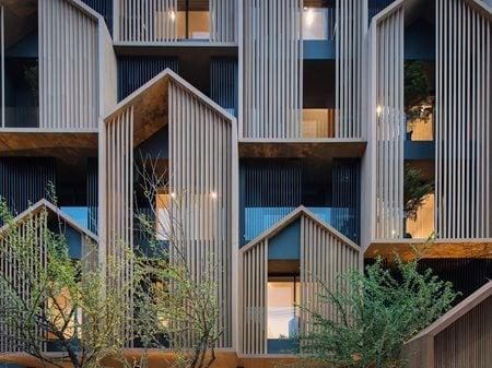Hachi serviced apartment OCTANE ARCHITECT & DESIGN