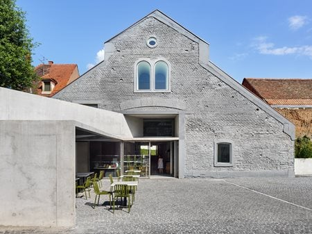 Covered market and exhibition space in Schiltigheim Dominique Coulon & associés
