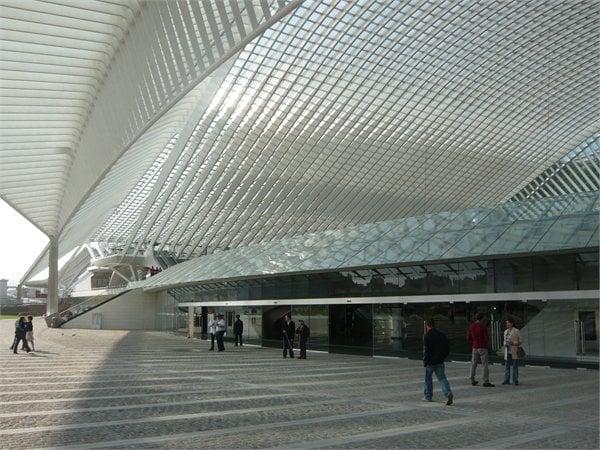 Liège-Guillemin Station Santiago Calatrava LLC