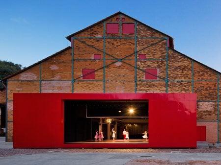 Teatro Engenho Brasil Arquitetura