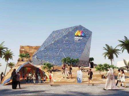 Monaco Pavilion at EXPO 2020 Dubai  OOS AG