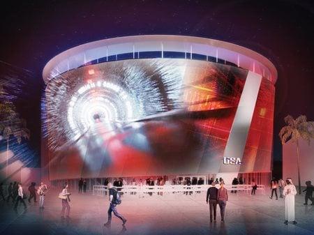 USA Pavilion at Expo 2020 Dubai  Fentress Architects