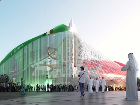 Italy Pavilion at Expo 2020 Dubai  Carlo Ratti Associati