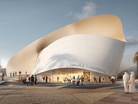 Luxembourg Pavilion at Expo 2020 Dubai Metaform architects