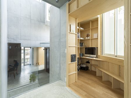 Tree-ness House akihisa hirata architecture office