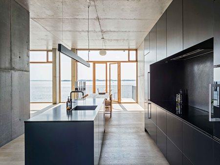 The architect's concrete home Multiform
