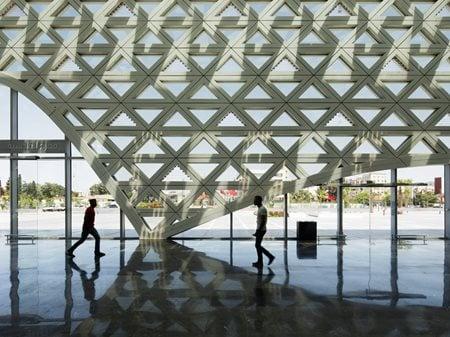 Kenitra TGV Station Silvio d'Ascia Architecture