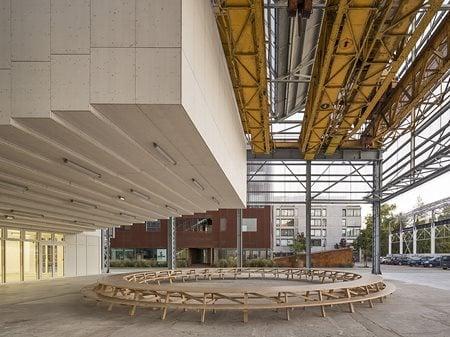 Alstom Warehouses Franklin Azzi Architecture