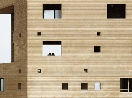 'Stone Garden' Housing & Art Gallery  Lina Ghotmeh—Architecture