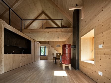 casa a collina Ceschia Mentil architetti associati