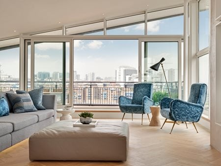 Bermondsey Wall Duplex Penthouse FORM design architecture