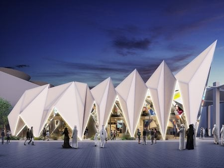 Expo Live Pavilion at Expo 2020 Dubai Archidentity