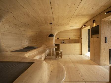 Wooden Cave Tenon Architecture