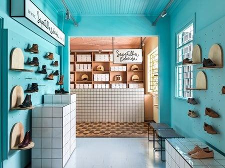 Sapatilha Colorida Store Moca Arquitetura