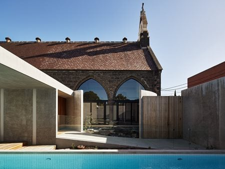 Courtyard House and Church Kister Architects