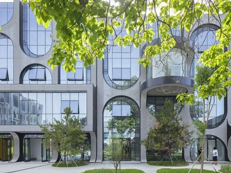 Beijing Fashion Factory- Courtyard B AntiStatics Architecture