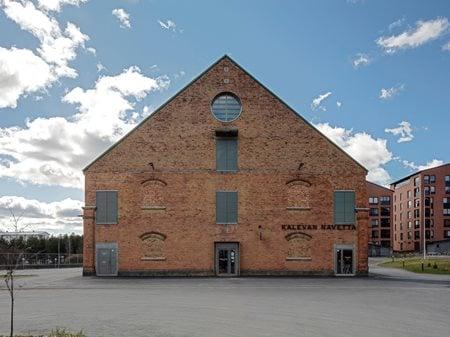 Art and Culture Center Kalevan Navetta Hirvilammi architects