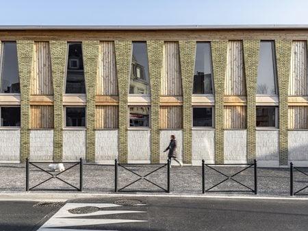 Pôlé éducatif du Val de Scarpe Guillaume Ramillien Architecture