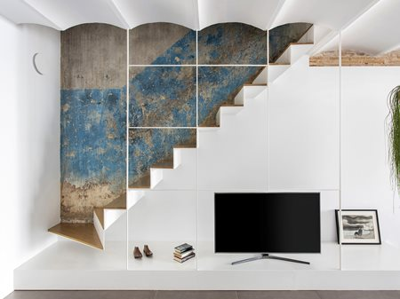 From an old greengrocer to a contemporary design duplex Estudio vilablanch