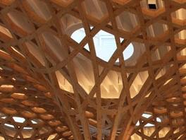Haesley Nine Bridges Golf Club House Shigeru Ban Architects
