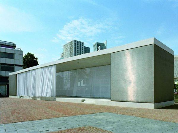 Podium Grotekerkplein Atelier Kempe Thill architecs and planners