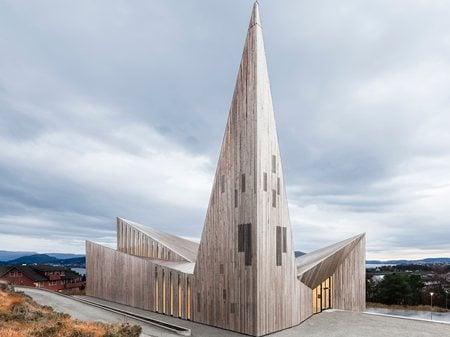 Community Church Knarvik Reiulf Ramstad Arkitekter