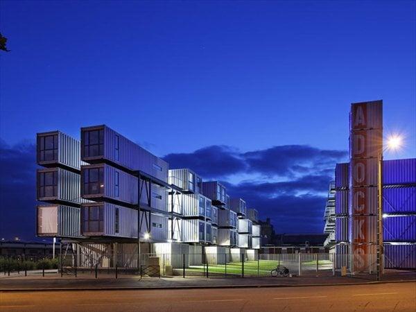 Résidence Etudiants, Adock, Le Havre Atelier Cattani Architectes