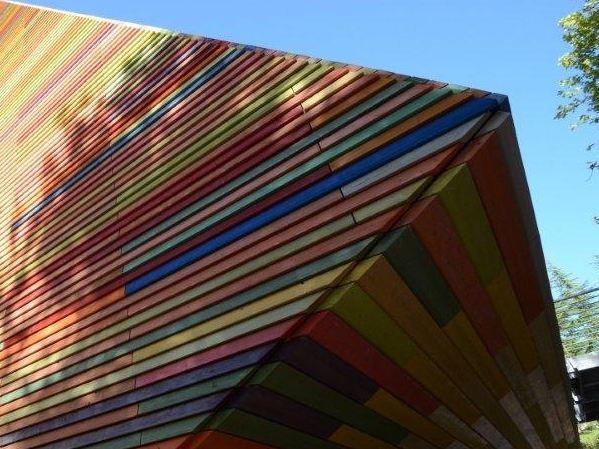Temporary auditorium in L'Aquila RPBW - Renzo Piano Building Workshop