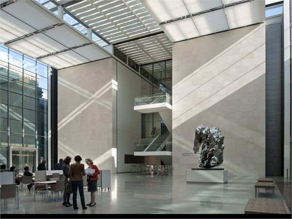 Art of Americas Wing - Museum of Fine Arts Foster + Partners