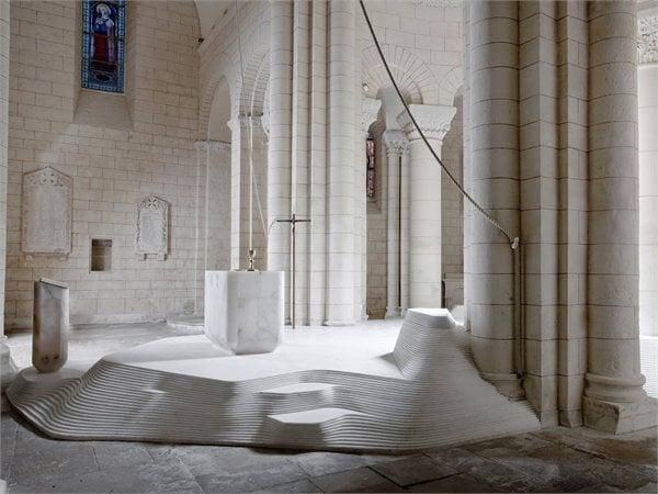 St Hilaire Church Mathieu Lehanneur