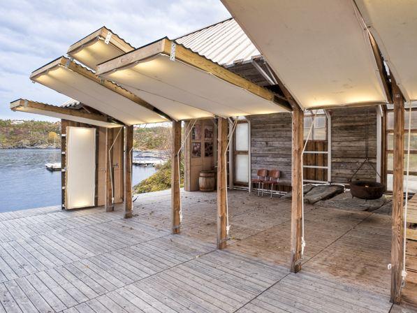Naust paa Aure TYIN tegnestue Architects