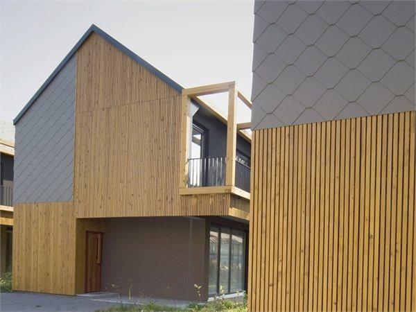 Backbone Village houses OFIS Arhitekti