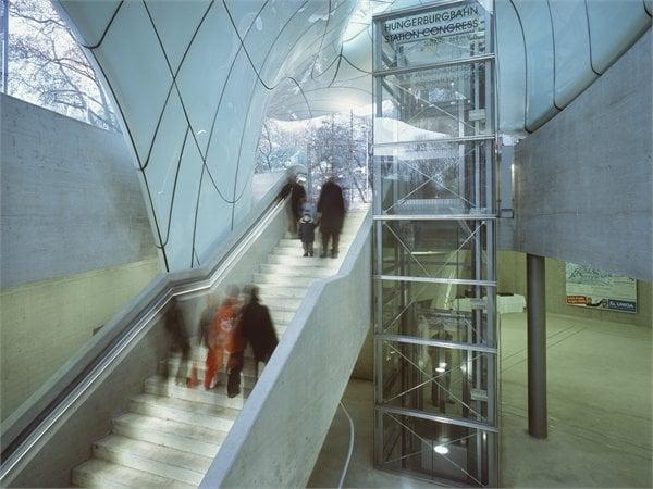 Nordpark Cable Railway Zaha Hadid Architects