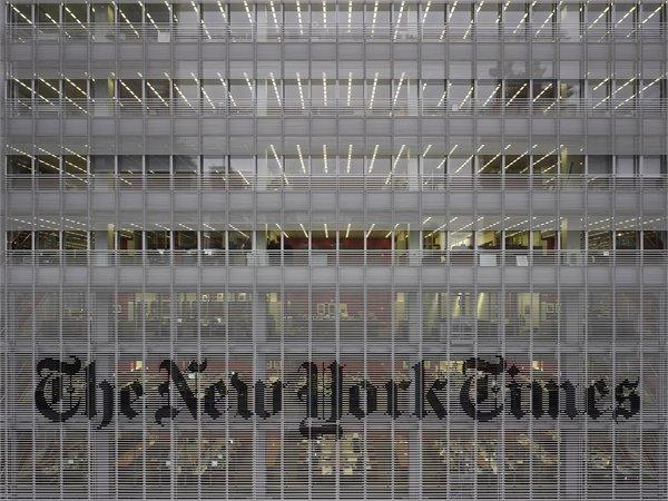 New York TimesHeadquarter RPBW - Renzo Piano Building Workshop