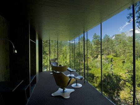 Juvet Landscape Hotel - National Tourist Routes in Norway JSA Jensen & Skodvin
