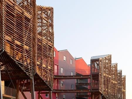 BORÉAL: urban social housing Tetrarc