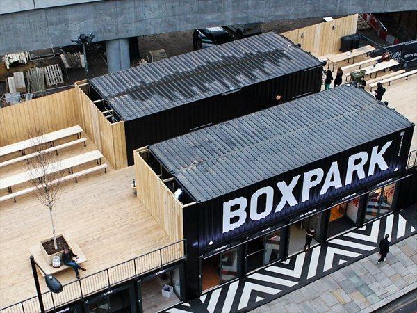 BOXPARK Shoreditch Waugh Thistleton Architects
