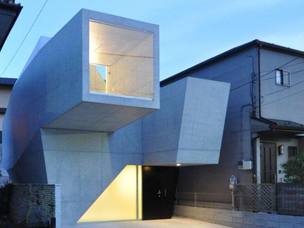 House in Abiko fuse-atelier
