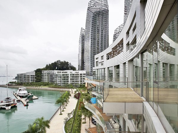 Reflections at Keppel Bay Studio Libeskind