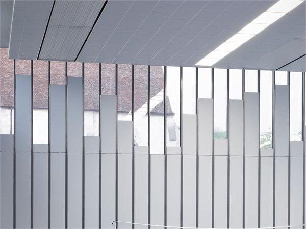 Gymnasium and Town Hall esplanade LAN Architecture